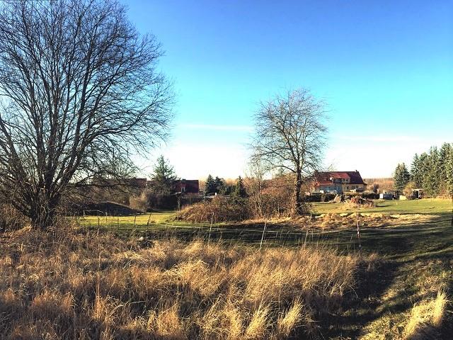 Über 1,1 ha großes Grundstück (überwiegend Grünland) in Ortslage ca. 28 km von der Ostsee entfernt