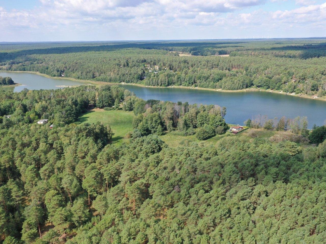 Ufergrundstück im Wochenendhausgebiet direkt am Pinnower See im Schlaubetal - Brandenburgs schönstes Bachtal