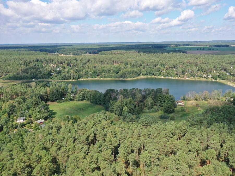 Grundstück nahe dem Pinnower See im Schlaubetal